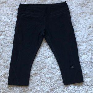 MPG cropped leggings yoga pants EUC size large